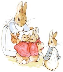 Nekateri zajčki ubogajo mamice, drugi pač ne