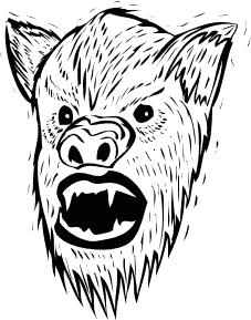 Zverjasec je seveda še strašnejši od volkodlaka