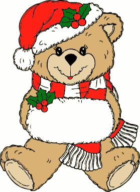 Kako medved praznuje Bozic?