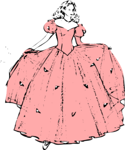 Princesa se pripravlja na ples